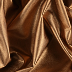 Leather look copper