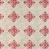 Halfpanama beige/red wallpaper pattern