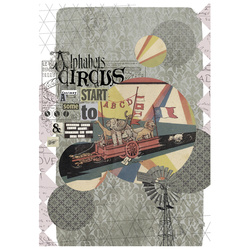 Digitalprint Mixmatch/Circus 100x145cm