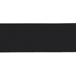 Ribbon woven nylon 38mm black 4m