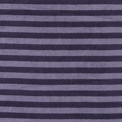 Stretch velvet dusty/dark purple stripe