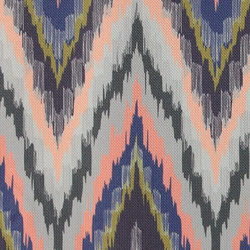 Upholstery multicolour ethnic print