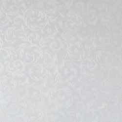 Non-woven oil cloth embossed white