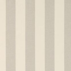 Yarn dyed block stripe grey/white
