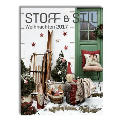 katalog herbst winter 2017 stoff stil. Black Bedroom Furniture Sets. Home Design Ideas