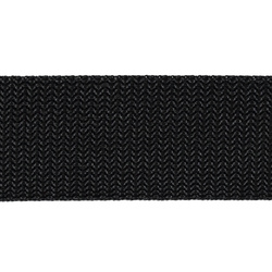 Webbing ribbon nylon 38mm black 5m