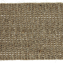 Webbing 70mm heavy jute 5m