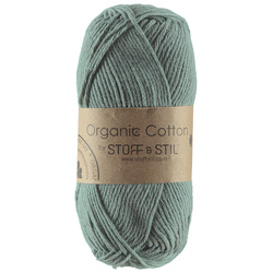 Knitting yarn organic cotton eucalyptus