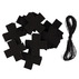 Kit felt garland 20pcs black 1 set