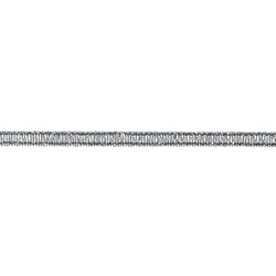Band 3 mm Silber 25m