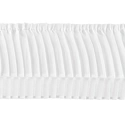 Pleat 8x150cm white 1pcs