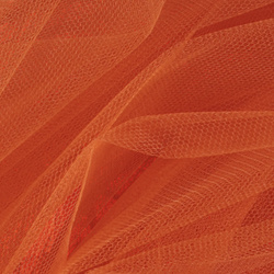 Tulle dark orange