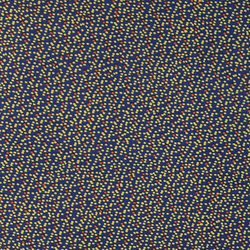 Cotton twill blue with small dots