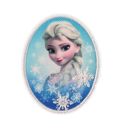 "Stoffapplikation ""Elsa"" DISNEY 55x70mm"