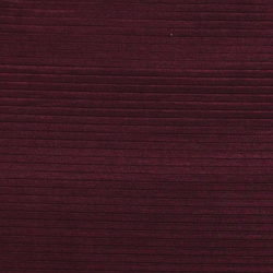 Pleat bordeaux with shiny effect