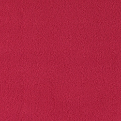 Polar fleece raspberry red