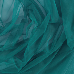 Soft tulle dark jade