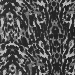 Chiffon nature w animal print